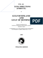 Pub. 195 Gulf of Finland and Gulf of Bothnia (Enroute), 12th Ed 2013
