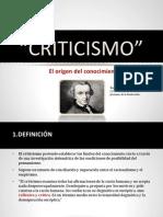 Criticism o