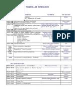 Cronograma Del Campamento 2013