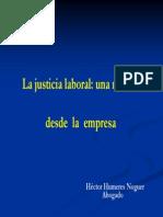 Hector Humeres Justicia Laboral Para Mostrar