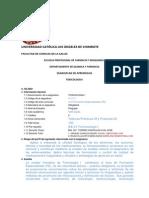 Syllabus Toxicologia i y II
