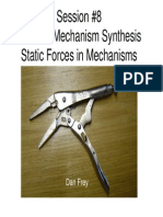 Elements of Mechanical Design - Mechanisms (Forces in 2D Mechanisms)