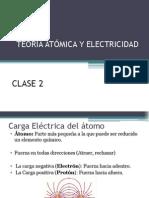 Clase 2 Carga Eléctrica del átomo