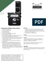 Arena Reverb Manual En