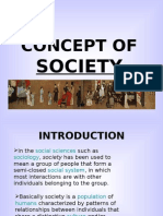 Concept of Society (2)