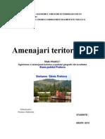 Organizarea Si Amenajarea Turistica a Spatiului Geografic Din Localitatea Slanic, Judetul Prahova