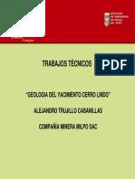 Cerro Lindo Diapositivas