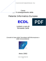 ECDL Base - Modulo 1