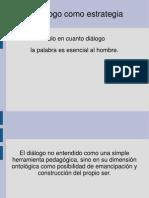 PresentacionEl dialogocomoestrategia
