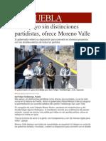 30-01-2014 Milenio.com - Más apoyo sin distinciones partidistas, ofrece Moreno Valle