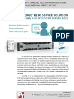 Dell PowerEdge R720 with Samsung SSDs and Windows Server 2012
