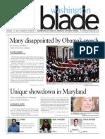 Washingtonblade.com, Volume 45, Issue 5, January 31, 2014