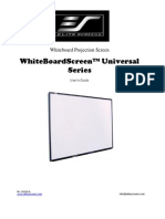 User Guide Elite WBSU