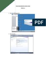 Pasos Para Ingresar a Visual Studio