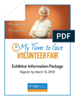 V!VA Mississauga My Time to Give Exhibitor Package