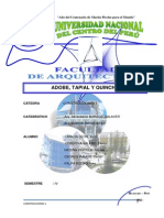 Adobe Tapia Quincha