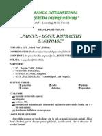 """""""PARCUL – LOCUL DISTRACTIEI   SANATOASE""""-ZUBAS leaf 2013 final"""