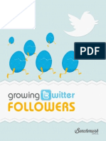 Growing Twitter Followers