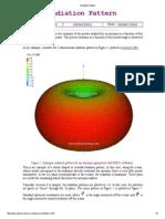 Radiation Pattern