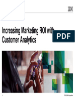 IBM Business Analytics Summit_Increase Marketing ROI With New Analytic Techniques