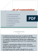 7 Principle of Commutation