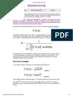 Directivity Antenna Theory