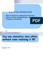 statistics - Introduction Arranging Data
