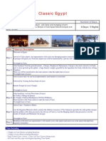 Classic cairo Luxor tours vacation in Egypt