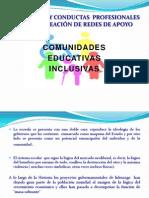 Comunidades educativas inclusivas