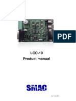 SMAC LCC-10 Product Manual Rev1 0