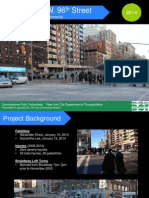 NYC DOT proposal for Broadway and 96th Street