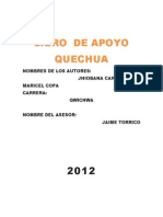 Texto de Quechua Marisel
