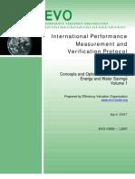 Ipmvp Vol i 2007 English