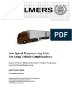 Report Master Thesis Low Speed Maneuvering Aids 120215