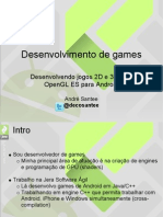 Desenvolvendo Jogos Para Android
