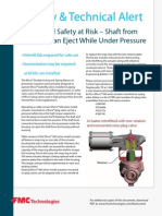 Weco Pneumatic Actuator Safety Alert