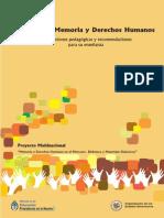 Mercosur - Educación, Memoria y derechos humanos