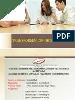 TRANSFORMACIÓN DE SOCIEDADES 1