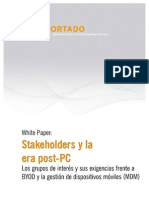 Whitepaper Stakeholders y La Era Post-PC ES