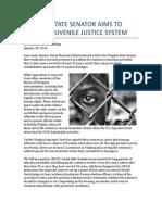 Attorney David Coolidge of Raleigh, NC Talks Improving Virginia Juvenile Justice System