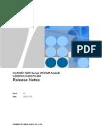 3900 Series WCDMA NodeB V200R012C00SPC300 Release Notes