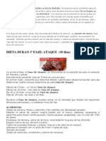 Consejos Antes de Comenzar La Dieta Dukan