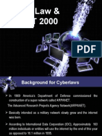 Cyber Law & It Act 2000