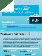 Presentacion Introduccion a .NET