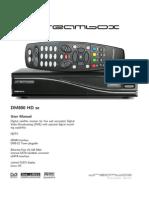 User Manual Dm800hdse