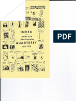 ISCA Index to the ISCA Quarterly 1970 - 1979 Aug 1979