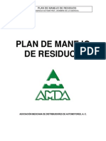Plan Manejo de Residuos Taller Automotriz