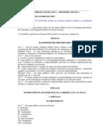 Regime Jurídico dos Servidores do Estado do Pará_Lei 5810