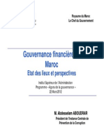 Gouvernance financière au Maroc