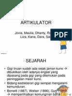 ARTIKULATOR ppt